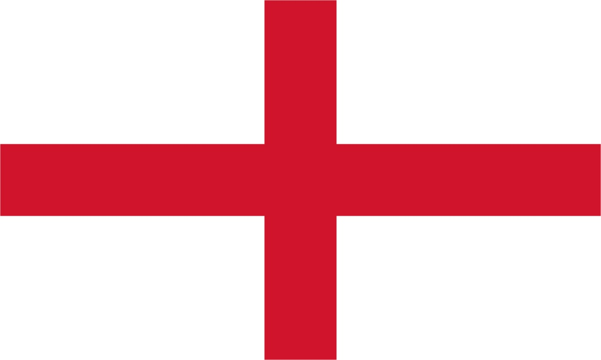 This is the flag of England which is part of The United Kingdom of ...
