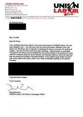 UNISON Letter edit (Large)